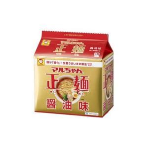 マルちゃん 正麺 醤油味 ( 5食入 )/ マルちゃん正麺|soukai