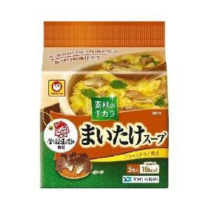 マルちゃん まいたけスープ ( 5食入 ) ( 調味料 つゆ スープ )