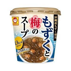 マルちゃん もずくと梅のスープカップ ( 1コ入 )/ マルちゃん