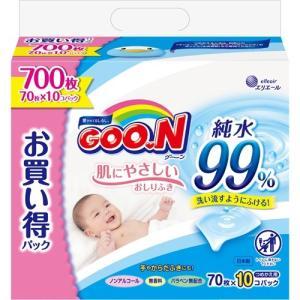 グーン 肌にやさしいおしりふき つめかえ用 ( 700枚入(...
