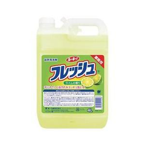ルーキーV フレッシュ ライムの香り 業務用 ( 4L )/ ルーキー ( 台所用洗剤 )