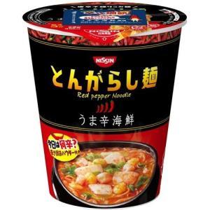 日清のとんがらし麺 うま辛海鮮 ( 1コ入 )|soukai