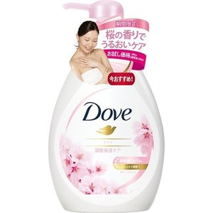 (アウトレット)ダヴ ボディウォッシュ サクラ ポンプ お試し品 ( 380g )/ ダヴ(Dove)|soukai