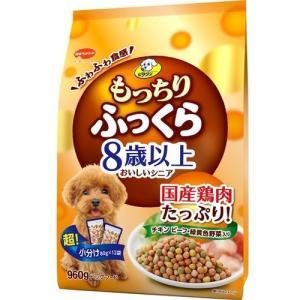 ビタワン もっちりふっくら 8歳以上 チキン・野菜入り ( 960g )/ ビタワン ( ドッグフード ドライ 国産 )