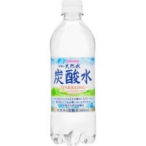 伊賀の天然水炭酸水(スパークリング) ( 500mL*24本入 )/ サンガリア 天然水炭酸水