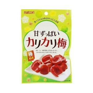 なとり 甘ずっぱいカリカリ梅 ( 32g )