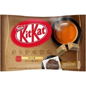 キットカット ミニ オトナの甘さ ほうじ茶 ( 12枚入 )/ キットカット ( チョコレート ホワ...