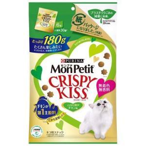 モンプチ クリスピーキッス とびきり贅沢チキン味 ( 180g )/ モンプチ|soukai