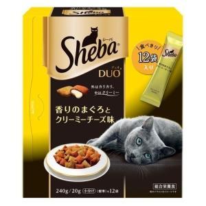 シーバデュオ 香りのまぐろとクリーミーチーズ味 ( 240g )/ シーバ(Sheba) ( シーバデュオ キャットフード ドライ )