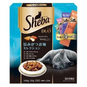 シーバ デュオ 旨味がつお味セレクション ( 240g )/ シーバ(Sheba) ( シーバデュオ キャットフード ドライ )