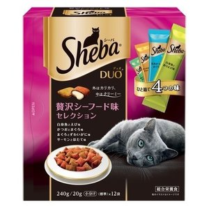 シーバ デュオ 贅沢シーフード味セレクション ( 240g )/ シーバ(Sheba)