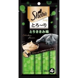(訳あり)シーバ とろ〜りメルティ とりささみ味 ( 12g*4本入 )/ シーバ(Sheba)|soukai