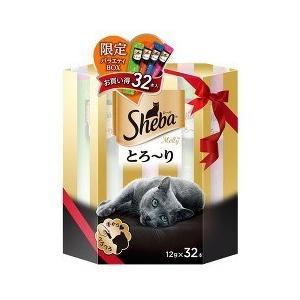 シーバ とろ〜りメルティ 限定バラエティボックス ( 12g*32本入 )/ シーバ(Sheba)|soukai