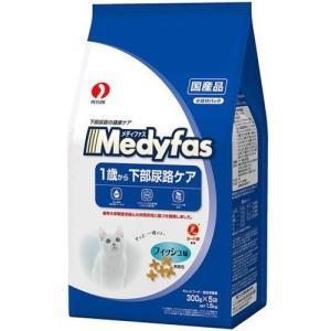 メディファス 1歳から成猫用 フィッシュ味 ( 300g*5袋入 )/ メディファス ( キャットフード ドライ 下部尿路 国産 )