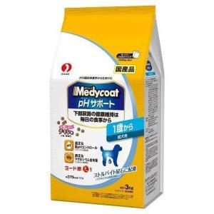 メディコート pHサポート 1歳から 成犬用 小粒 ( 500g*6袋入 )/ メディコート ( ドッグフード ドライ 下部尿路 国産 )
