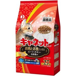 キャネットチップ お肉とお魚ミックス ( 2.7kg )/ キャネット ( キャットフード )