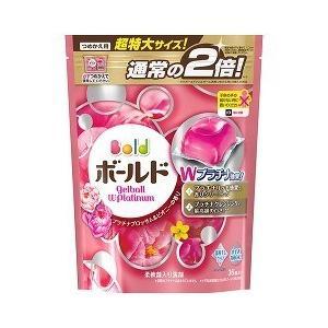 ボールドジェルボールWプラチナ プラチナブロッサム&ピオニーの香り 詰替え用 特大 ( 36コ入 )/ ボールド