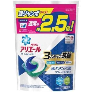 アリエール 洗濯洗剤 パワージェルボール3D 詰め替え 超ジャンボ ( 44コ入 )/ アリエール ...