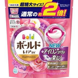 ボールド 洗濯洗剤 ジェルボール3Dプレミアムブロッサムの香り 詰め替え 超特大 ( 34コ入 )/ ボールド soukai