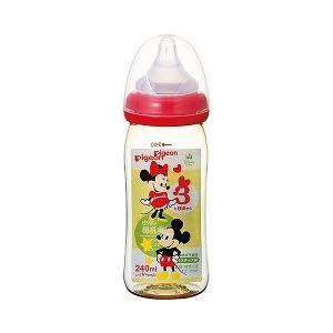 ピジョン 母乳実感哺乳びん プラスチック 240ml ミッキー柄 ( 1コ入 )/ 母乳実感 soukai