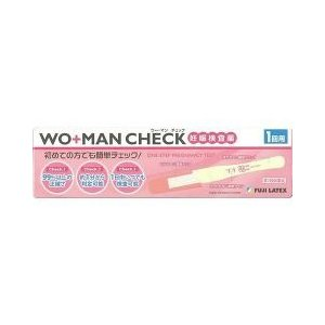 (第2類医薬品)妊娠検査薬 ウー・マン チェック 1回用 ( 1コ入 )/ WO+MAN(ウーマン)