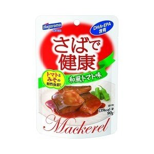 はごろもフーズ さばで健康 和風トマト味 パウチ ( 90g )