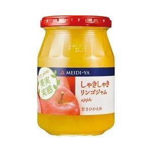 明治屋 MY 果実実感 しゃきしゃきリンゴジャム ( 340g )/ 果実実感 ( リンゴ )