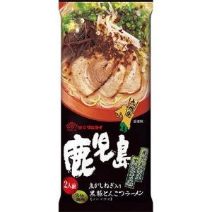 鹿児島黒豚とんこつラーメン ( 2食入 )の商品画像