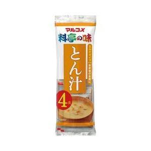 生みそ汁 とん汁 ( 4食入 ) ( インスタント 味噌汁 )