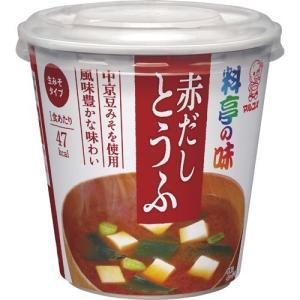 (訳あり)カップ 料亭の味 赤だしとうふ ( 1コ入 )/ 料亭の味
