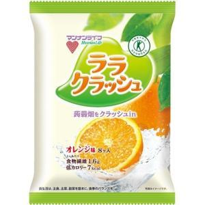 蒟蒻畑 ララクラッシュ オレンジ味 ( 24g*...の商品画像