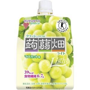 (訳あり)クラッシュタイプの蒟蒻畑ライト マスカット味 ( 150g )/ 蒟蒻畑|soukai