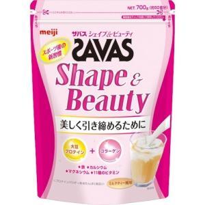 ザバス シェイプ&ビューティ ミルクティー風味 ( 700g(約50食分) )/ ザバス(SAVAS)|soukai
