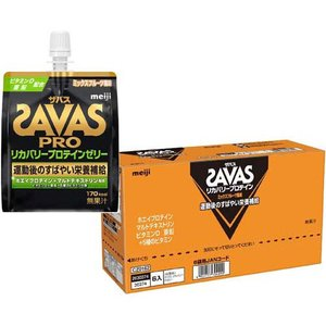 ザバス リカバリープロテインゼリー ミックスフルーツ風味 ( 180g*6個入 )/ ザバス(SAVAS)|soukai