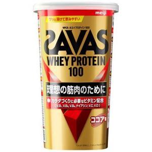 ザバス ホエイプロテイン100 ココア味 ( 294g )/ ザバス(SAVAS)|soukai