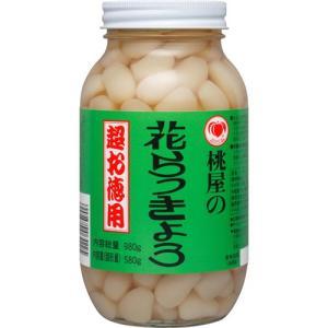 桃屋 花らっきょう 超お徳用 ( 580g )...