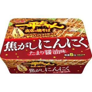 一平ちゃん夜店の焼そば 焦がしにんにくたまり醤油味 ( 12個入 )/ 一平ちゃん