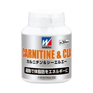 ウイダー カルニチン&CLA ( 標準120粒入 )/ ウイダー(Weider) ( カルニチン )