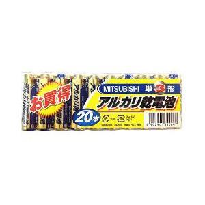 三菱 アルカリ乾電池 単3形 LR6N/20S ( 20本入 )|soukai