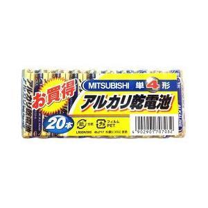 三菱 アルカリ乾電池 単4形 LR03N/20S ( 20本入 )|soukai