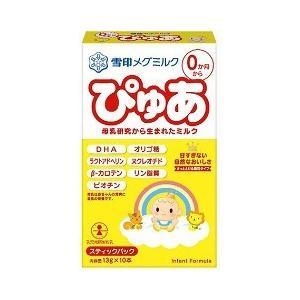 雪印 ぴゅあ スティックパック ( 13g*10本入 )/ ぴゅあ