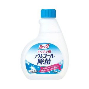 ルック キッチン用 アルコール除菌スプレー つけかえ用 ( 300mL )/ ルック ( アルコールスプレー 除菌 消毒 キッチン用品 )