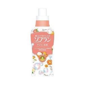 香りとデオドラントのソフラン アロマソープの香り 本体 ( 650mL )/ ソフラン ( ソフラン アロマソープ ナチュラル ライオン 柔軟剤 )