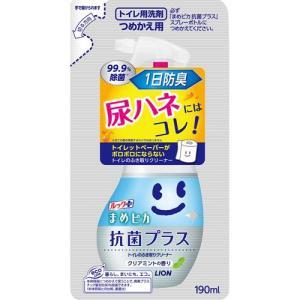 ルック まめピカ 抗菌プラス トイレのふき取りクリーナー つめかえ用 ( 190mL )/ ルック