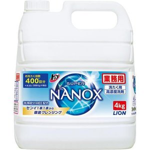 大容量 業務用 トップ スーパーナノックス ( 4kg )/ スーパーナノックス(NANOX)