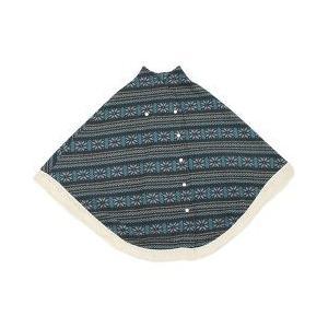 バディバディ 授乳のできるマビーケープ ニット風フリースケープ Z6017 ブラック ( 1枚入 )/ バディバディ ( ベビー用品 )