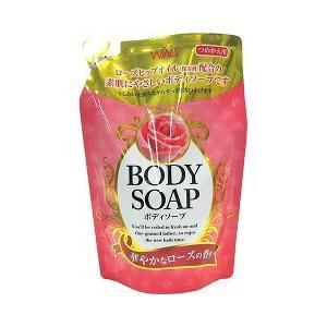 ウインズ ボディソープソープ 華やかなローズの香り つめかえ用 ( 400mL )/ ウインズ|soukai