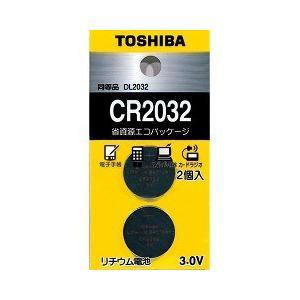 東芝 コイン型リチウム電池 CR2032EC 2P ( 2コ入 )|soukai