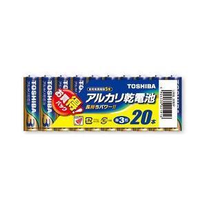 東芝 アルカリ乾電池 単3形 20本パック LR6L20MP ( 1セット )/ 東芝(TOSHIBA)|soukai