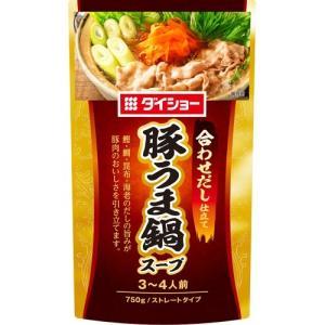 ダイショー 豚うま鍋スープ ( 750g )